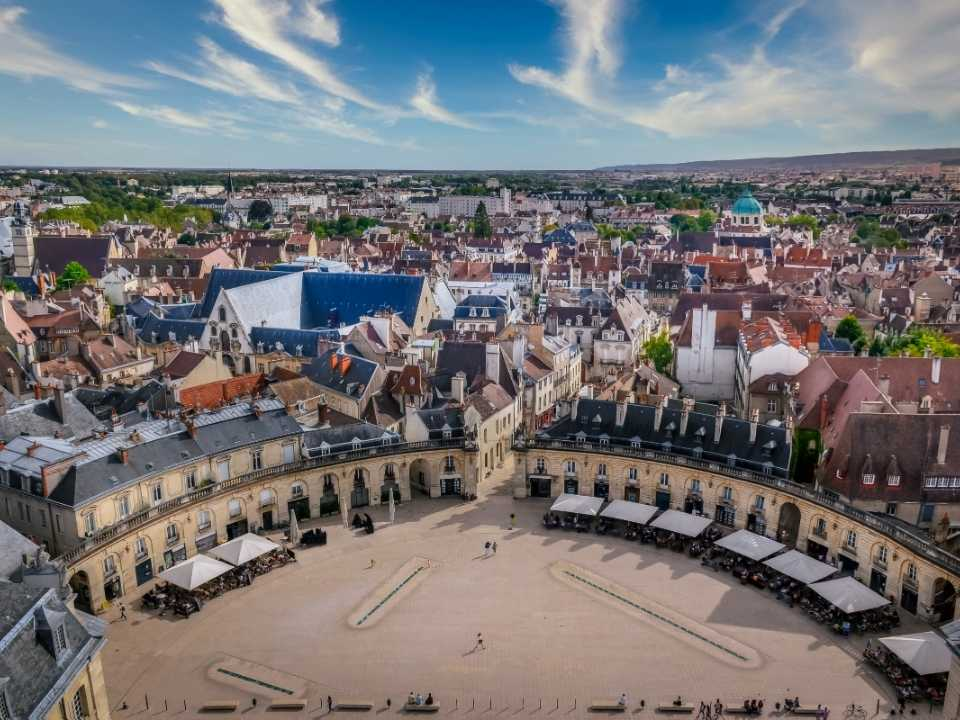 Dijon 2nd Most popular Student city in France